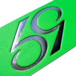 Neon Green 59 Style Leather Belt Strap