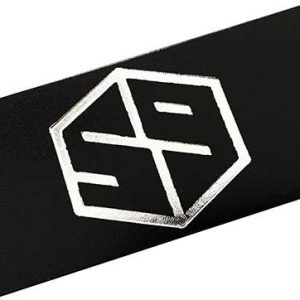 59 style leather belt strap - black