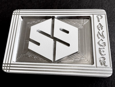 59 tournament players crew belt buckle - white