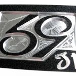 59 Crew SE Phenom logo Golf Belt Buckle – Black