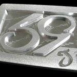 59 Crew SE Phenom logo Golf Belt Buckle – Brushed