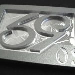 59 Crew SE Phenom logo Golf Belt Buckle – Silver