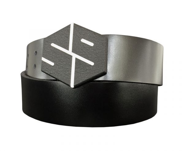 black 59 gyb golf belt buckle