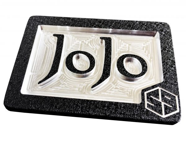 custom personal initials monogram belt buckle with jojo letters
