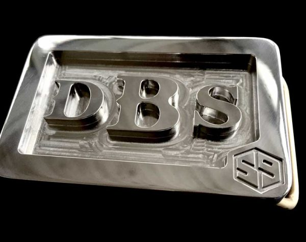 custom stainless steel dbs personal initials belt buckle