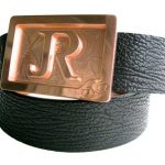 59 Style Genuine Exotic Shark Belt Strap Black