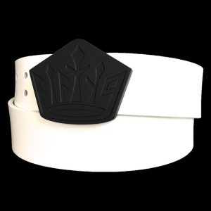 murdered out fifty9 crown belt buckle