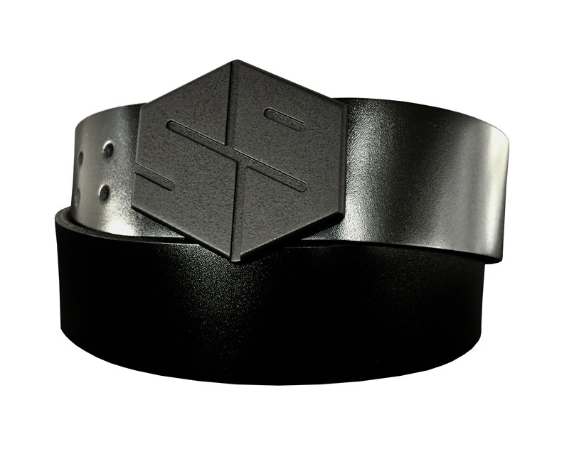murdered out 59 gyb golf belt buckle