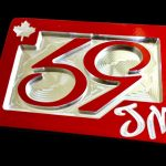 59 Crew Phenom Canuck Belt Buckle – Translucent Red