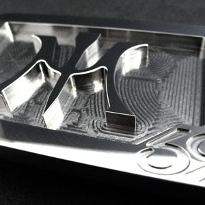 custom cnc milled stainless steel belt buckle made for muira golf mini blades series