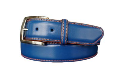custom collegiate calfskin belt strap florida gator colors