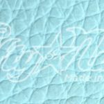 Aqua Pebble Calfskin Leather Sample