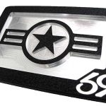 US Airforce America Belt Buckle – Black
