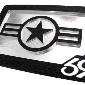 black us airforce america belt buckle
