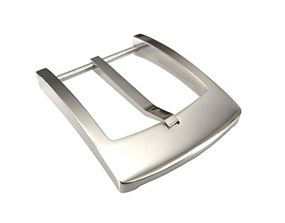 stainless steel chrome belt buckle