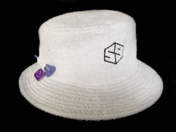 59 tee-keeper terry bucket hat - white