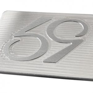 59 flusher golf belt buckle - brushed