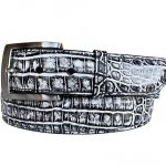 Two-Tone-Genuine-Argentine-Crocodile-Belt—Black_White